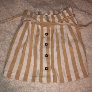 Hollister Button Front Skirt